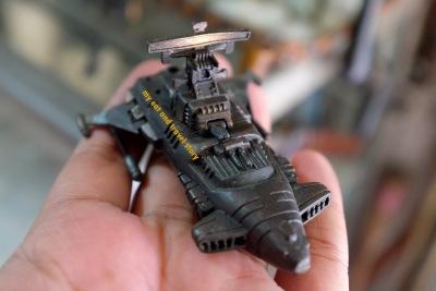 Miniatur pesawat ruang angkasa?