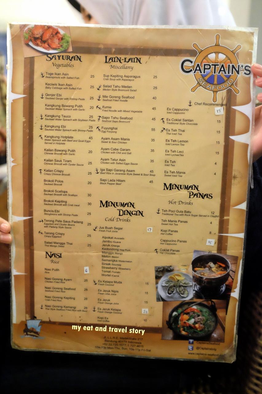Traktiran Ultah Di Captain S Seafood Bandung My Eat And Travel