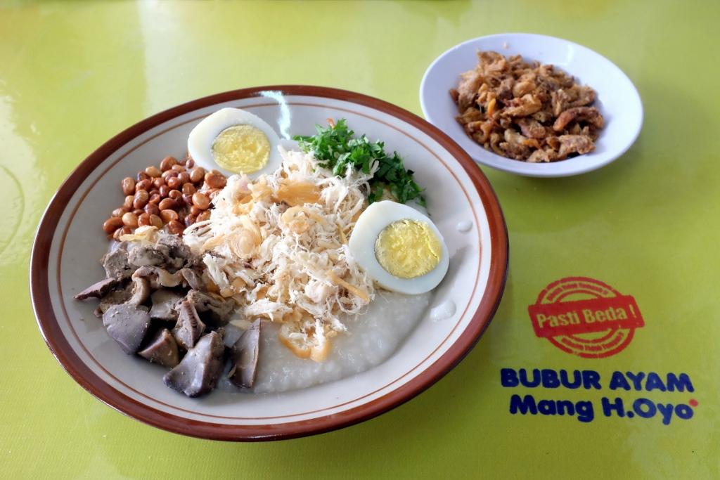 Image result for bubur ayam mang h oyo